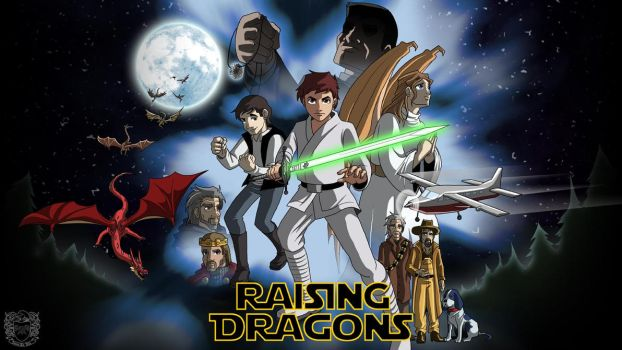 Raising Dragons/Star Wars Mashup by JamesArtVille