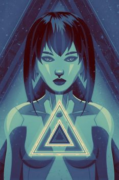 Ghost in the Shell - Major by FabledCreative