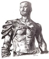 Spartacus Andy Whitfield RIP by guinnessyde