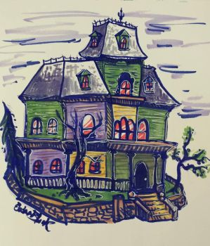 Houses are hard to draw by GryphonDecay