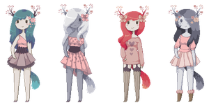 [ SOLD OUT ] special v-day adopts! by Sergle