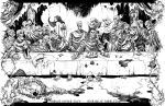 Zombie Last Supper Poster by phour-nyne-guy
