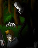 Playing SLENDER by InkTailedDragon