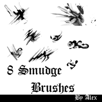 smudge brushes by alexl93