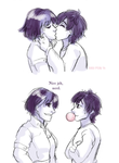 Gonna kiss that gum right outta your mouth by ErinPtah