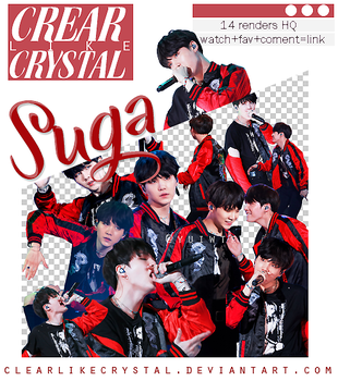 #072   Pack Png   Suga   BTS by clearlikecrystal