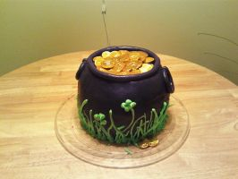 Saint Patrick's Day Cake by Lioness123