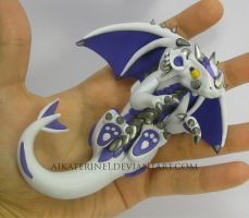 Let's Play! Polymer Clay Dragon by MiniMythicalMonsters