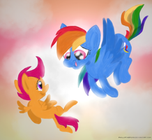 You're Flying Squirt! by PhillipthePuma