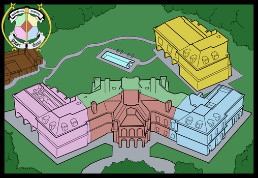 Map of the School by EriaHime