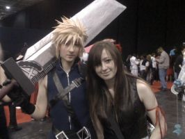 Cloud and Tifa by sukeyfpt