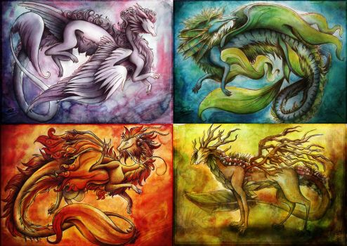 The four, together by Lyswen