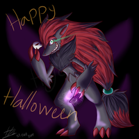 Happy Halloween 2011 by MsDinoGoat