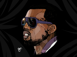 Kanye West 4 by geereezy