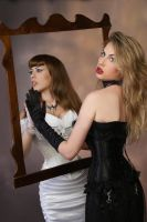 Good and Evil Mirror Stock C by tanit-isis-stock