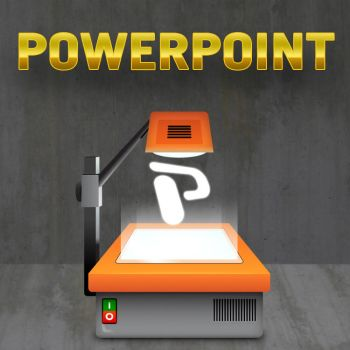 Powerpoint Icon by cavemanmac