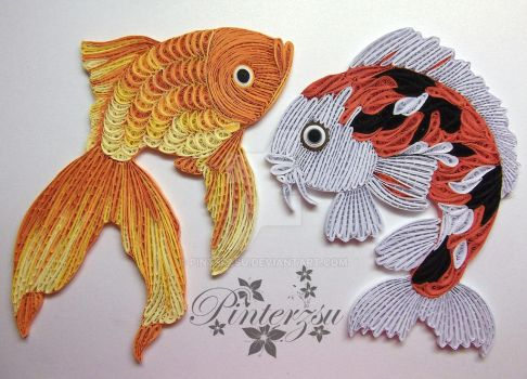 Fishes by pinterzsu