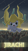 Pokemon 20th Anniversary- Jirachi