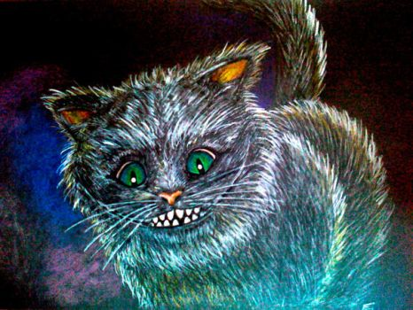 Cheshire cat by Evulee