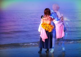 Tidus and Yuna Cosplay, FFX - Just a dream by hakucosplay