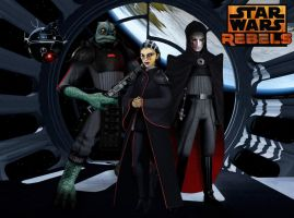 Meet your Inquisitors (Star Wars Rebels Fan Art) by Brian-Snook