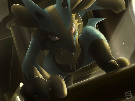 Pokemon: Lucario by mark331