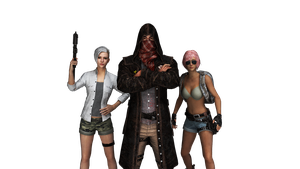 Playerunknowns battlegrounds Alpha Channel by FujitsuYoung