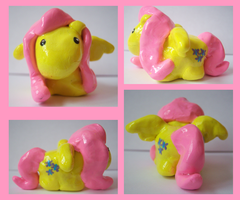 My Little Chubbie Pony: Fluttershy by IcyPanther1
