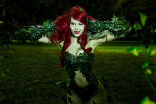 Poison Ivy Cosplay ~ Just a Harmless flower by magmasaya