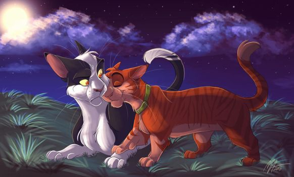 Talltail And Jake by MissArtsyy