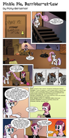 Pinkie Pie, Barrister-at-law by Pony-Berserker