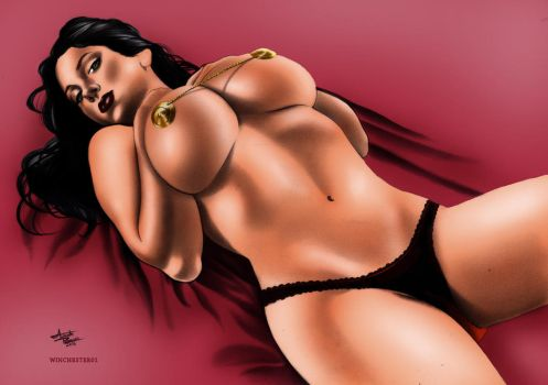 Dejah Thoris by Augusto Ramalho by winchester01