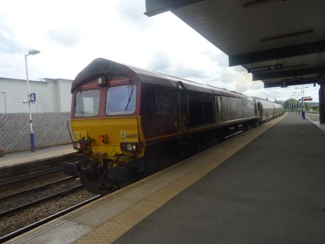 DBS 66 059 at Blackburn by BoomSonic514