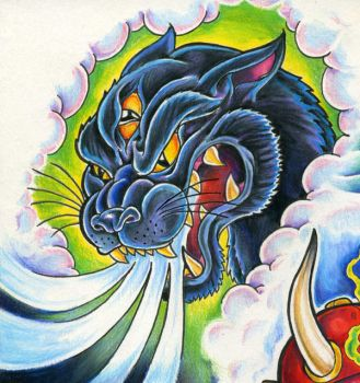 Mystic Panther by scottkaiser