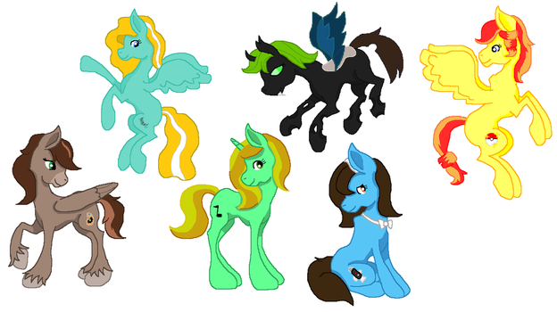 Pride of the Apples - The New Cast by Crazy-Summer-Magic
