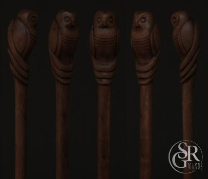 ''The Wise Companion'' - Wand Details by SRG-Wands