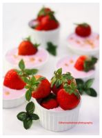 Marshmallow Cream Cheese Fruit Dip w/strawberries by theresahelmer