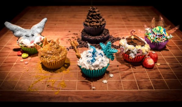 RISE OF THE CUPCAKES - Guardians Of Delight by TrustOurWorldNow