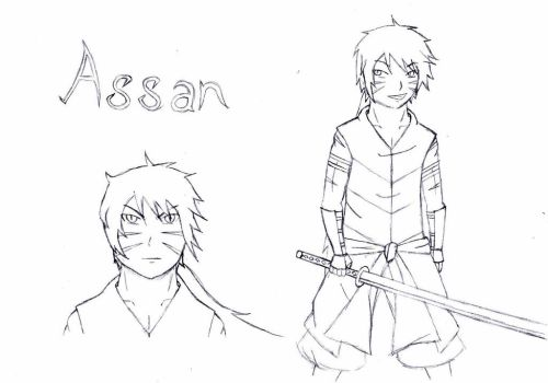 Assan by kaige13