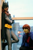 The Bat and The Martian - Young Justice by jillian-lynn