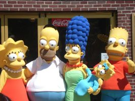 The Simpsons by oceaneyeschaos