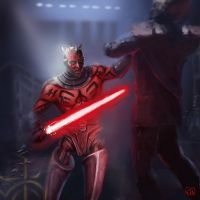 Darth Maul by RinaCane