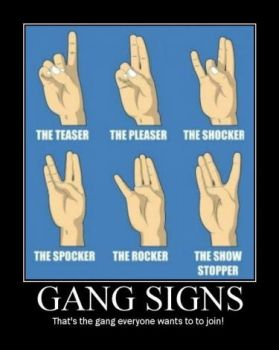 Gang Signs by tankmasterp