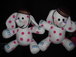 Misfit Toys Spotted Elephants by thedollmaker