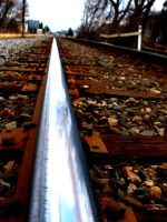 Follow the Silver Metal Tracks by backtothebeginning