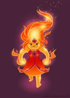 Grouchy Flame Princess! (Adventure Time) by crispygecko
