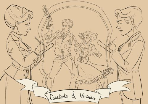 Constants and Variables-Bioshock Infinite by aimeezhou