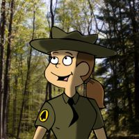 Female Park Ranger? by PUFFINSTUDIOS