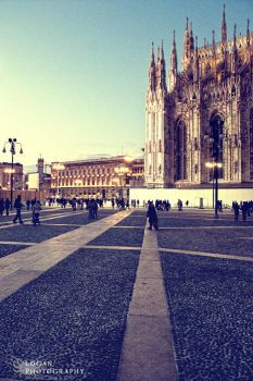 Another dumb shot of Milan by LoganX78