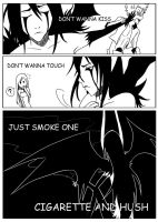 Cigarette Lust by AYurManga